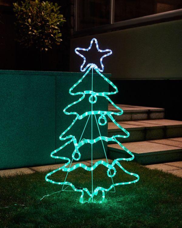 Christmas LED Tree Wall Light