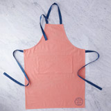 apricot Helen James Considered Stamp Apron