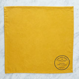 yellow Helen James Considered Stamp Napkins - Pack Of 2