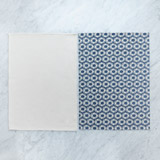 blue Helen James Considered Daisy Tea Towel - Pack Of 2