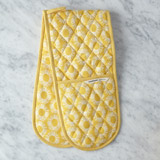 yellow Helen James Considered Daisy Double Oven Glove