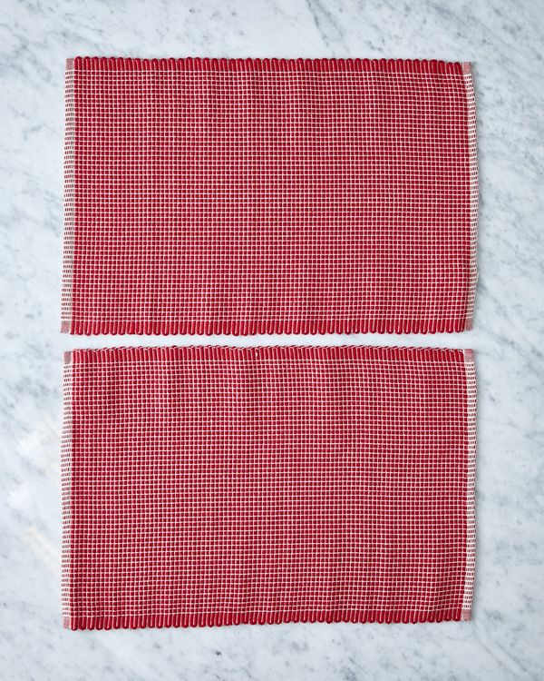 Helen James Considered Stitch Placemat - Pack Of 2