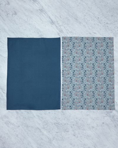 Helen James Considered Danish Dot Tea Towels - Pack Of 2