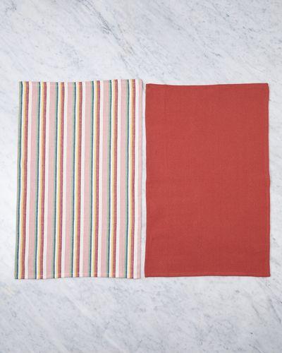 Helen James Considered Stockholm Stripe Tea Towel - Pack Of 2