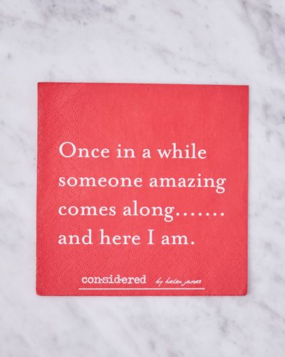 Helen James Considered Amazing Napkins - Pack Of 20
