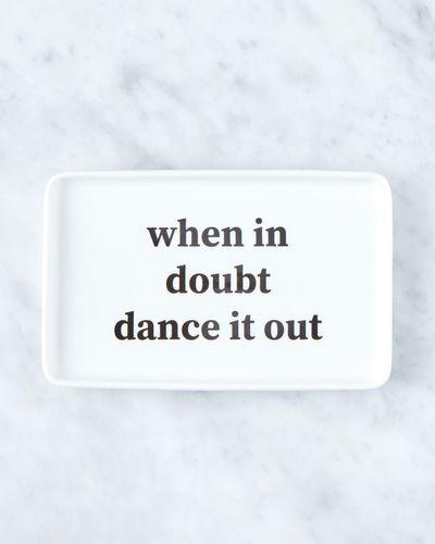 Helen James Considered When In Doubt Platter thumbnail