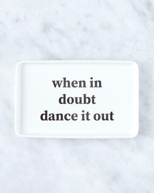 Helen James Considered When In Doubt Platter