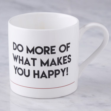 Helen James Happy Mug