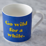 blue Helen James Considered Wild Mug