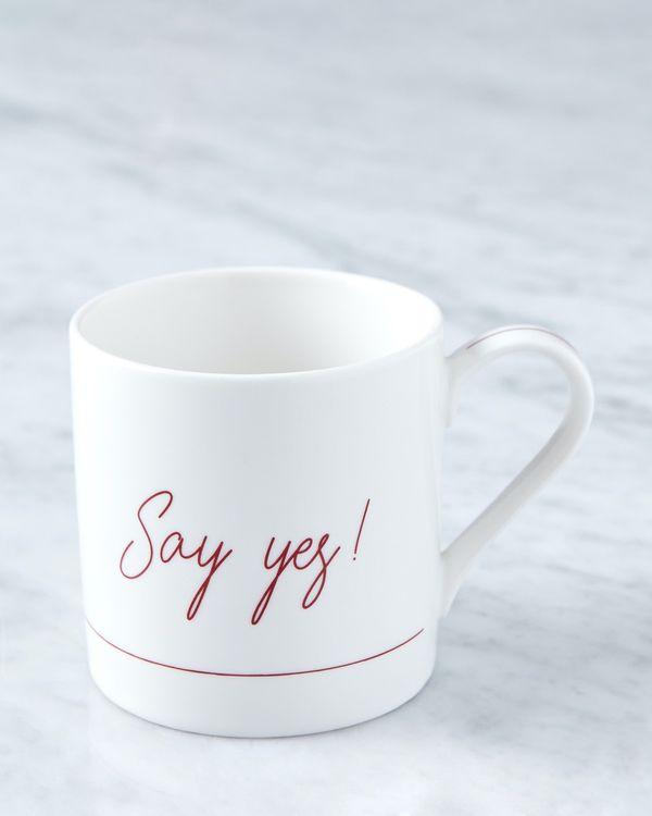 Helen James Considered Say Yes Mug