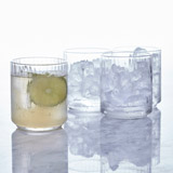 clear Helen James Considered Ribbed Glass