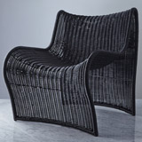 black Helen James Considered Curve Chair