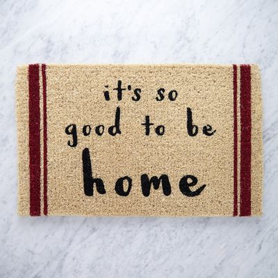 Helen James Considered It's So Good To Be Home Doormat  thumbnail