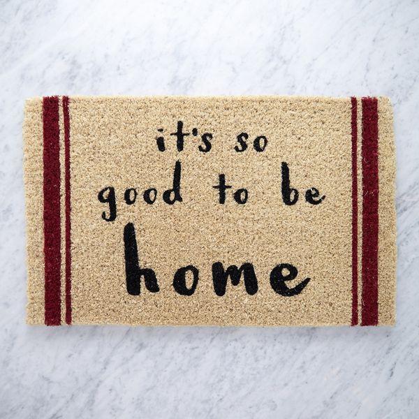 Helen James Considered It's So Good To Be Home Doormat
