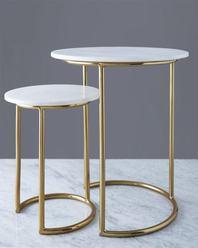 Helen James Considered Marble Top Table
