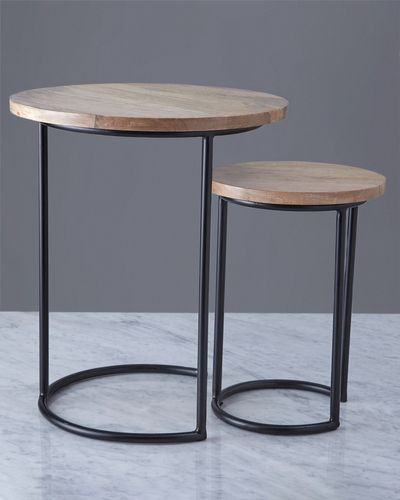 Helen James Considered Wooden Nest Table