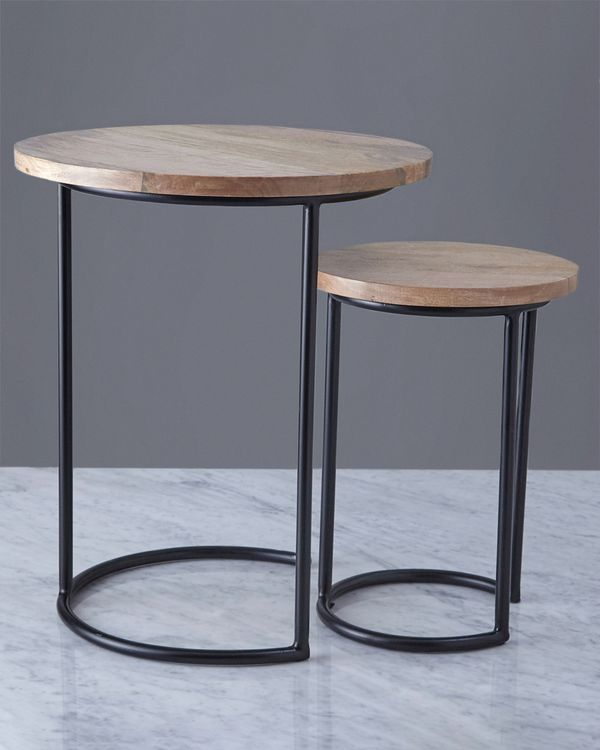 Helen James Considered Wooden Nest Table