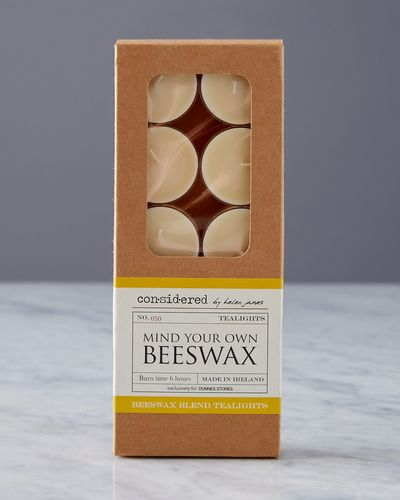 Helen James Considered Beeswax Tealights - Pack Of 10 thumbnail