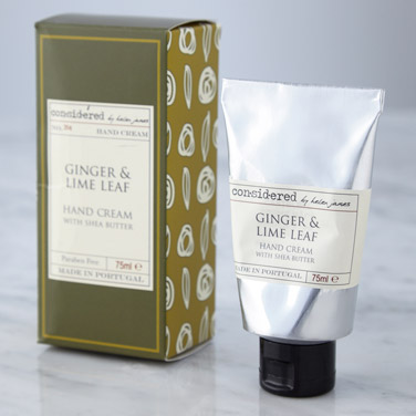 greenHelen James Considered Ginger And Lime Hand Cream