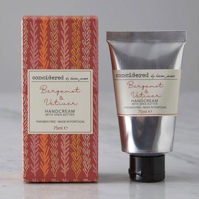 Helen James Considered Bergamot And Vetiver Hand Cream