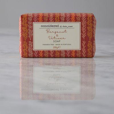 Helen James Considered Bergamot And Vetiver Soap