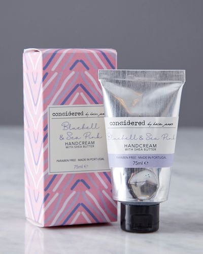 Helen James Considered Bluebell And Sea Pink Handcream