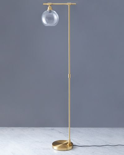 Helen James Considered Glass Floor Lamp