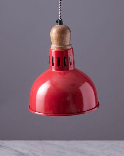 Helen James Considered Red Pendant