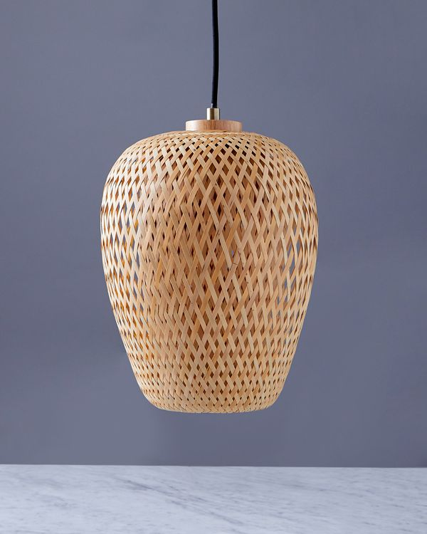 Helen James Considered Rattan Pendant