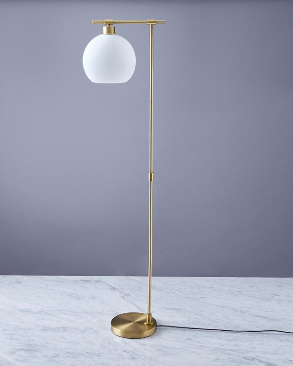 Helen James Considered Opal Floor Lamp