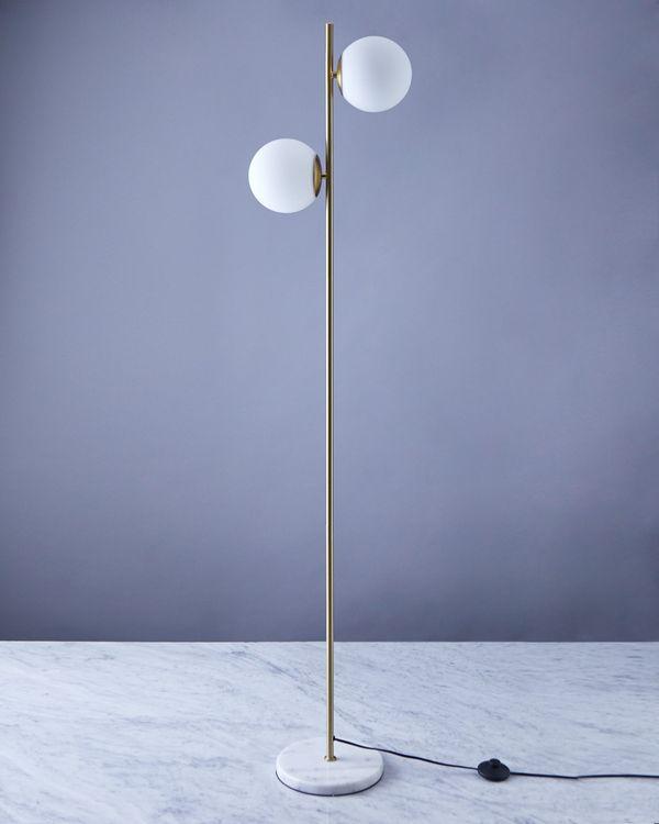 Helen James Considered Double Head Floor Lamp