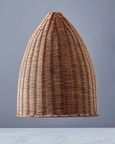 Helen James Considered Rattan Cone Shade