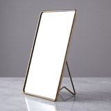brass Helen James Considered Table Mirror