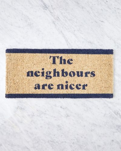 Helen James Considered Nicer Neighbours Doormat