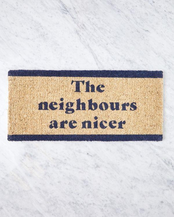 Helen James Considered Nicer Neighbours Doormat