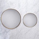 brass Helen James Considered Circle Mirror