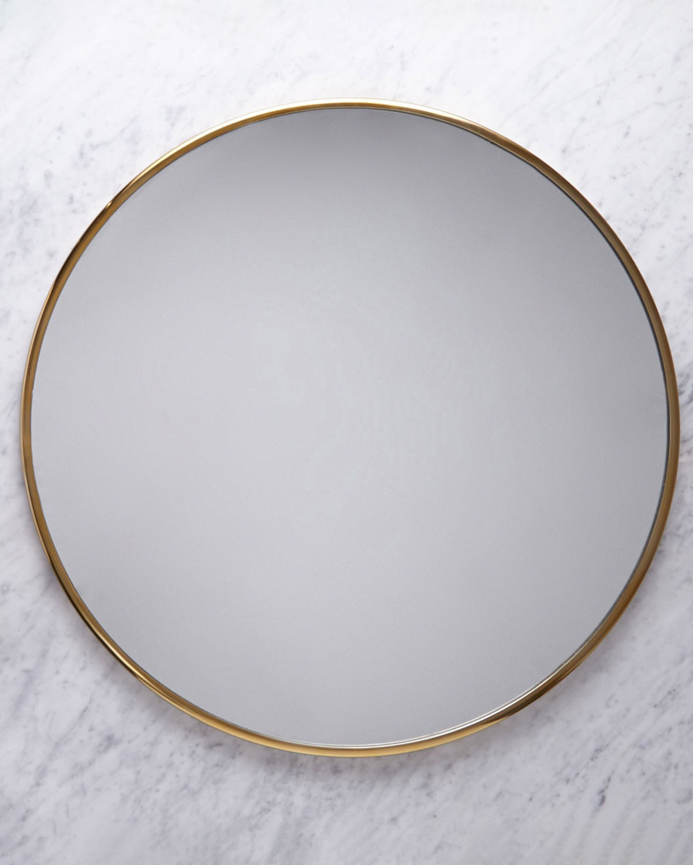 Dunnes Stores Brass Helen James Considered Circle Mirror