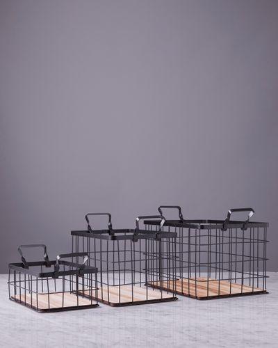 Helen James Considered Wire Baskets