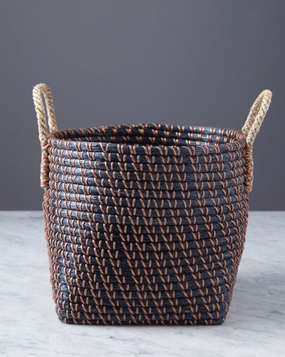 Helen James Considered Seagrass Basket With Handles
