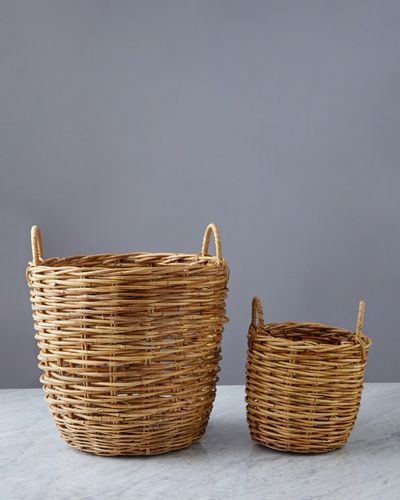 Helen James Considered Rattan Basket