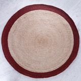 red Helen James Considered Round Rug
