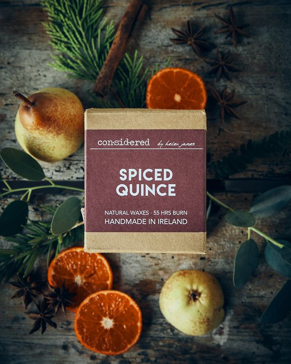 Helen James Considered Spiced Quince Candle