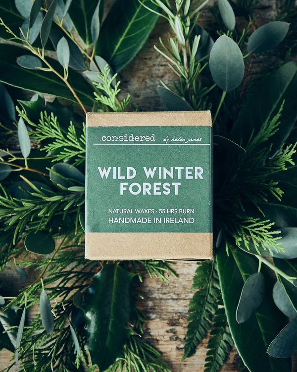 Helen James Considered Wild Winter Forest Candle