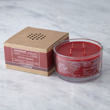 redHelen James Considered Spiced Quince Four Wick Candle