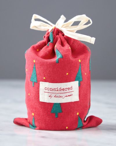 Helen James Considered Christmas Candle With Pouch