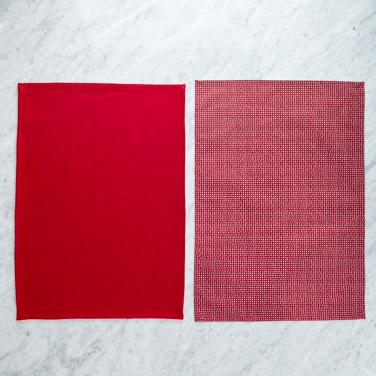 redHelen James Considered Christmas Dot Tea Towel - Pack Of 2