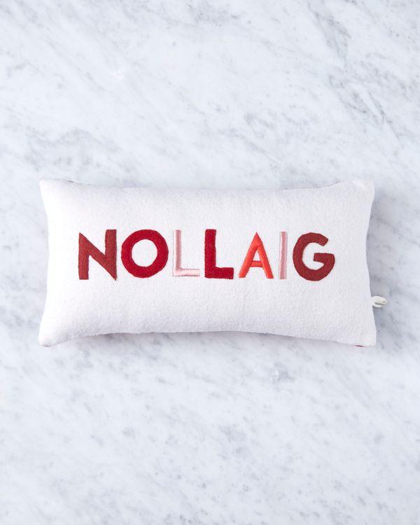 Helen James Considered Nollaig Cushion