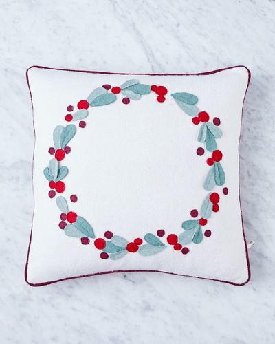 Helen James Considered Wreath Cushion
