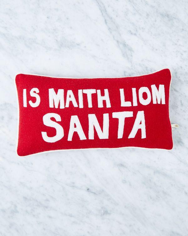 Helen James Considered Is Maith Liom Santa Cushion