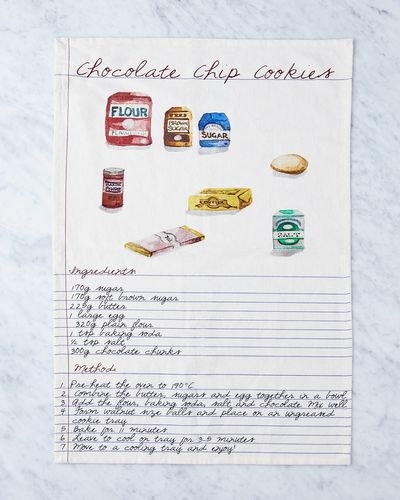 Helen James Considered Cookie Recipe Tea Towel